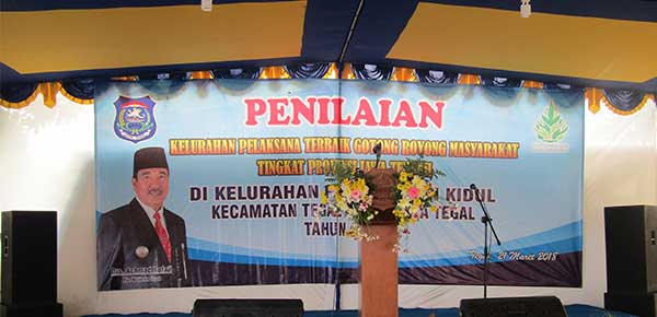 Penilaian Lapangan Lomba BBGRM Tingkat Provinsi Jawa Tengah