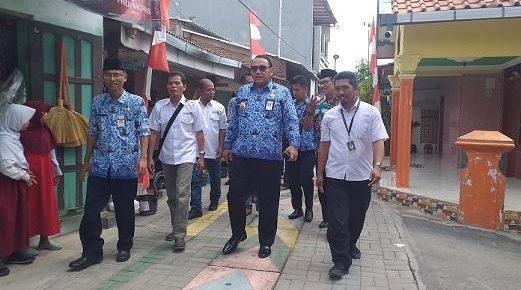11 Kelurahan di Kota Tegal Dinyatakan Bebas dari Predikat Kumuh