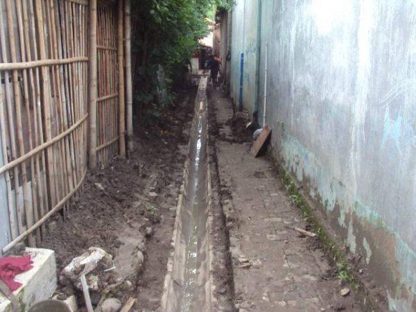 Pemeliharaan/Rehabilitasi Saluran Drainase di Lingkungan Kelurahan