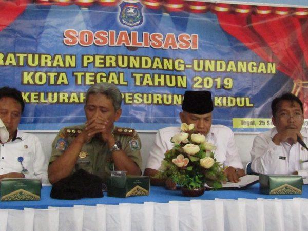 Sosialisasi Peraturan Perundang-Undangan Kota Tegal 2019 di Pesurungan Kidul