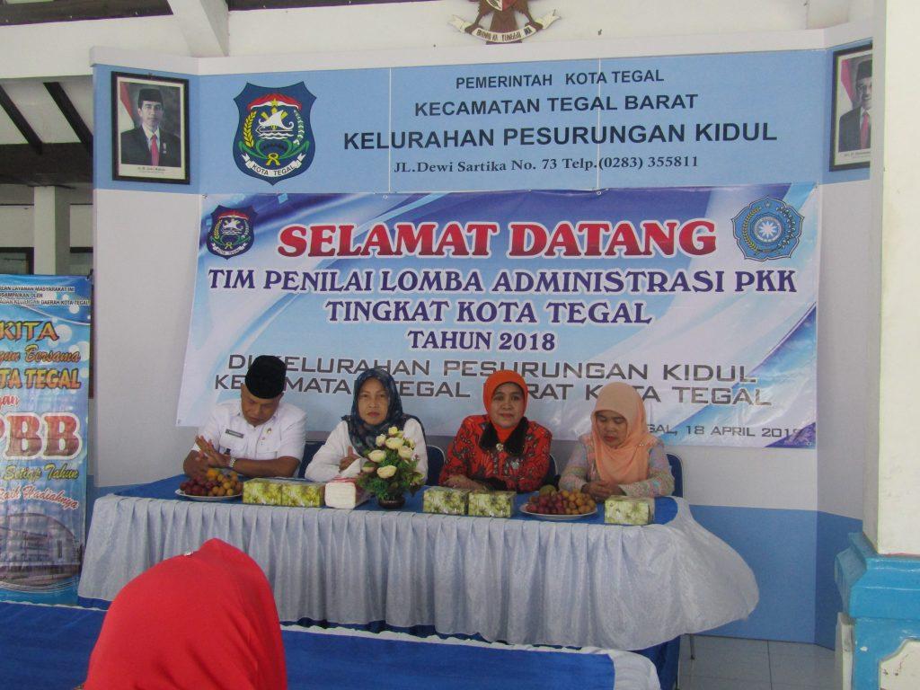 Lomba administrasi pkk Peskid 01
