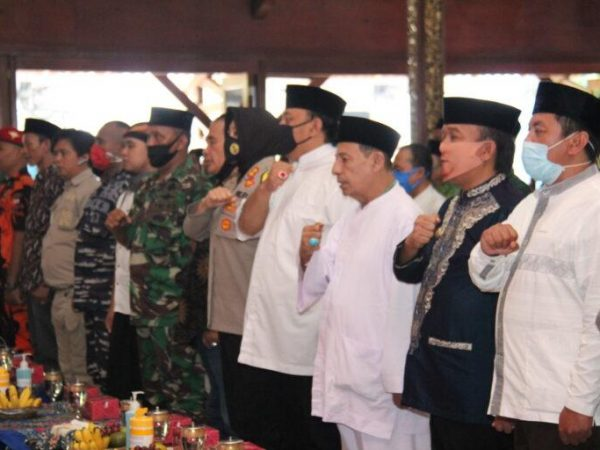 Walikota Ajak Ulama Umaro TNI POLRI Kompak Tangani Covid-19